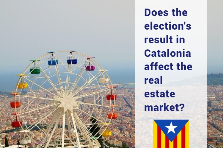 blog in - Does the election's result in Catalonia affect the real estate market?