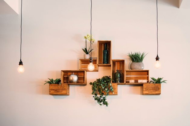 cajas decorativas - Ideas to decorate your home with recycled materials