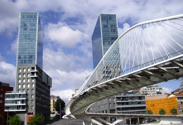 calatrava61 - Zubizuri Bridge in Bilbao by Santiago Calatrava