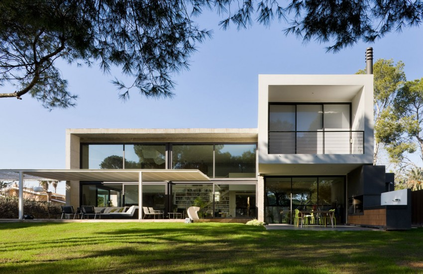 castellon house2 - Single Family Dwelling in Castellon, by Jaime Sanahuja Asociados