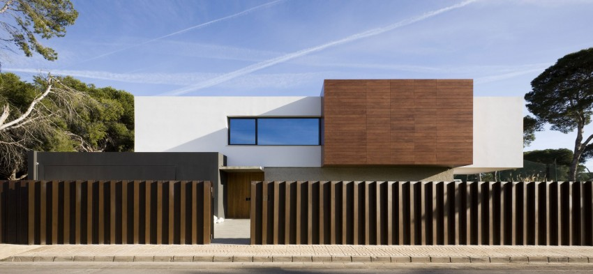 castellon house4 - Single Family Dwelling in Castellon, by Jaime Sanahuja Asociados