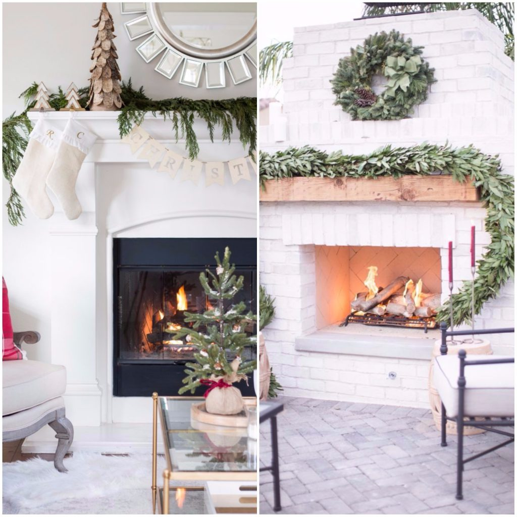 chimenea 1024x1024 - Guide to decorate your house with a style of...  Oh, White Christmas!