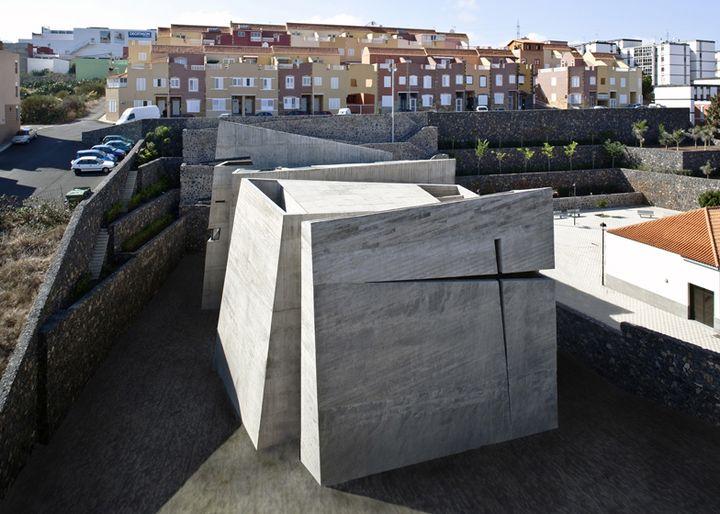 church in la laguna by menis arquitectos 01 - Church in La Laguna, Tenerife, Canary Islands