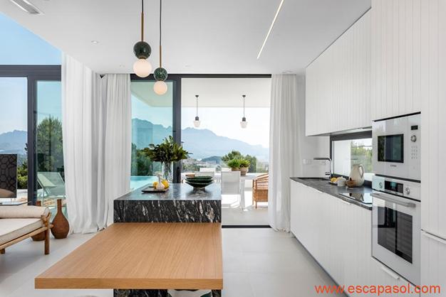 cocina 2 1 - Luxurious villa in Alicante: luminous and very spacious