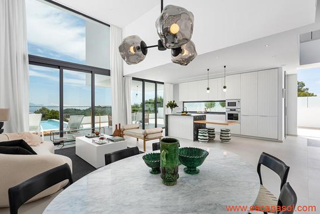 cocina 3 - Luxurious villa in Alicante: luminous and very spacious