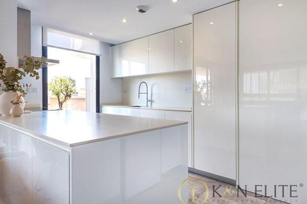cocina alicante 1 - Spectacular apartment next to the beach in Alicante