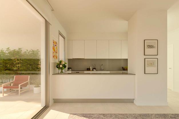 cocina americana casa costa del sol - Luxury flat on the Costa del Sol where you can start a whole new life