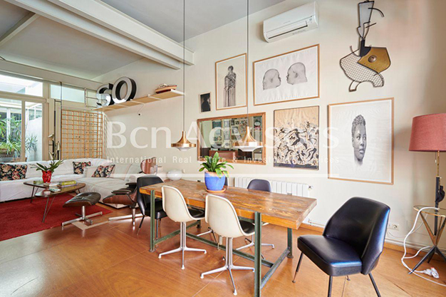 comedor barcelona - This spacious flat with a swimming pool in Barcelona is ideal for relaxing and enjoying the city