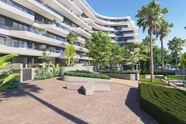 comunidad - Modern beachfront apartment in Málaga