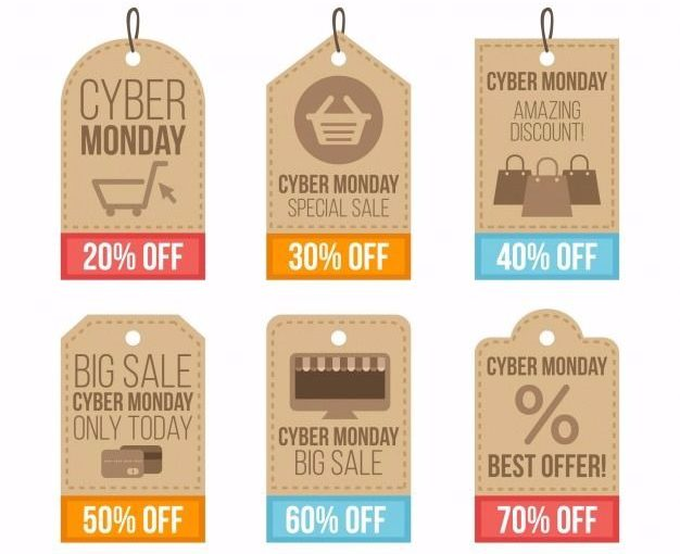 concepto de etiquetas de cyber monday 23 2147704608 e1511779220706 - Cyber Monday: the Black Friday hangover reaches to real estate sector with discounts on housing
