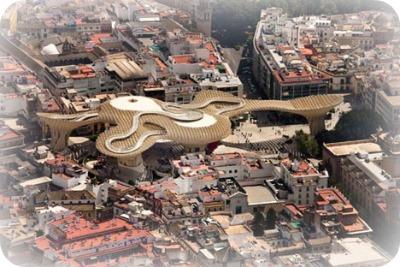 dezeen Metropol Parasol by J. Mayer H. 5 - Metropol Parasol in Seville