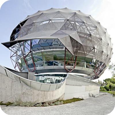 dezeen iGuzzini Illuminazione Espana SA Headquarters by MiAS Architects 1 - Il cielo iGuzzini. Spain Headquarters