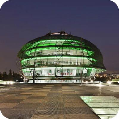 dezeen iGuzzini Illuminazione Espana SA Headquarters by MiAS Architects 4 - Il cielo iGuzzini. Spain Headquarters