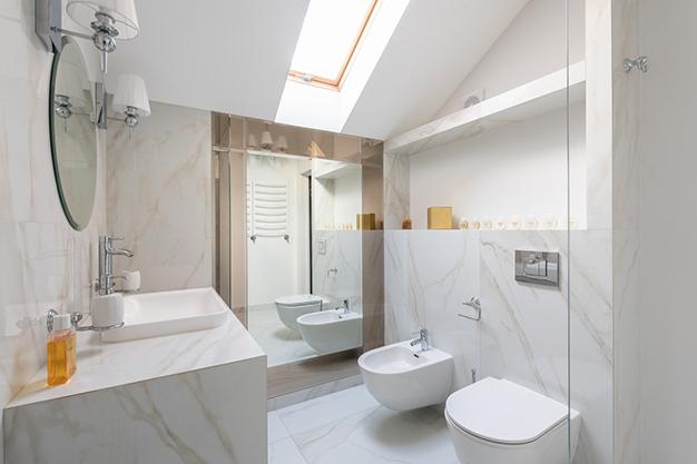 distribucion bano - Bathroom renovation: where to spend to make it worthwhile