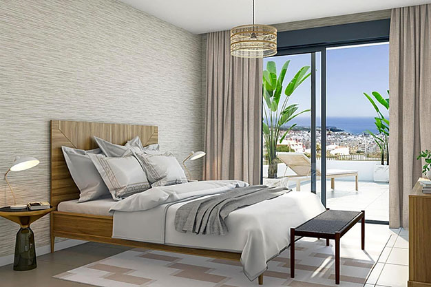 docmitorio estepona - Luxury apartment in Estepona with private garden and sea views: the total package
