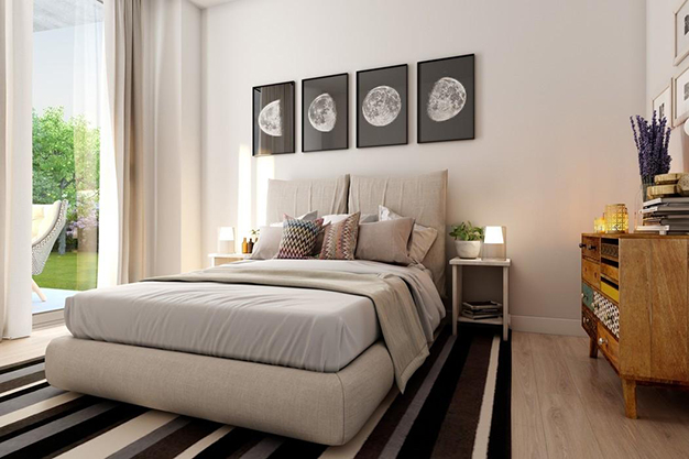 dormitorio 1 malaga - This luxury flat in Malaga will captivate you for its modern and attractive design
