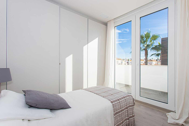 dormitorio 2 1 1 - Beach home with top quality features in Alicante