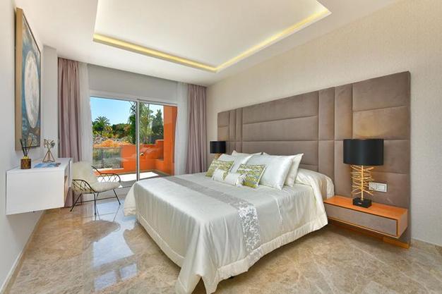 dormitorio 2 apartamento marbella - Luxurious apartment in the centre of Marbella, 5 minutes from Puerto Banús