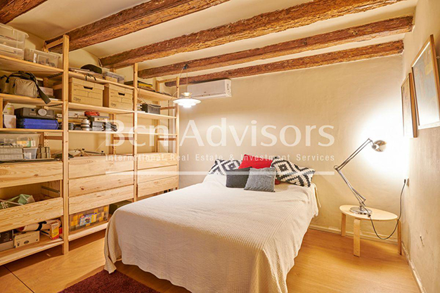 dormitorio 2 barcelona - This spacious flat with a swimming pool in Barcelona is ideal for relaxing and enjoying the city