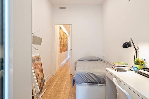 dormitorio 2 piso centro barcelona - Apartment in the historic centre of Barcelona: design and luxury to enjoy the Ciutat Vella