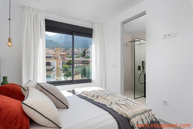 dormitorio 2 - Luxurious villa in Alicante: luminous and very spacious