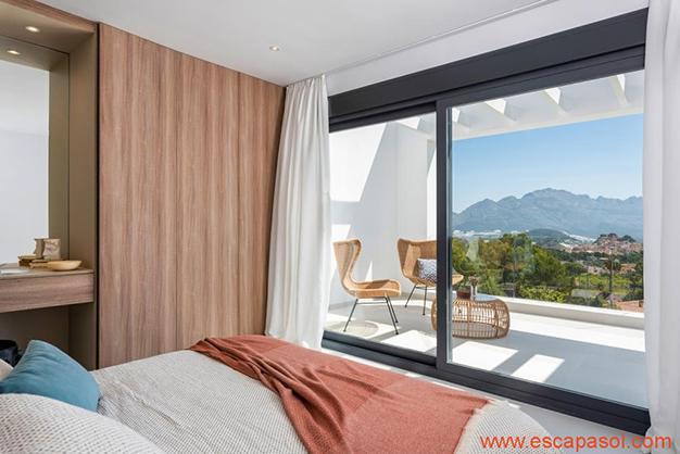 dormitorio 4 - Luxurious villa in Alicante: luminous and very spacious