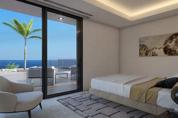 dormitorio 7 - For Sale One of the Most Spectacular Villas in Alicante with Incredible Sea Views