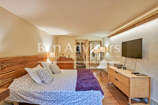 dormitorio barcelona - This spacious flat with a swimming pool in Barcelona is ideal for relaxing and enjoying the city