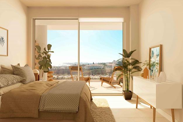dormitorio casa de lujo málaga - Luxury flat on the Costa del Sol where you can start a whole new life
