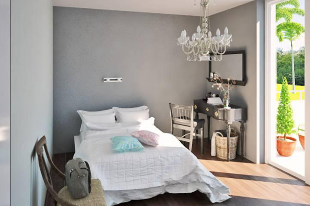 dormitorio doble palma de mallorca - Exclusive villa in Palma de Mallorca: modernity and luxury to savour the Mediterranean