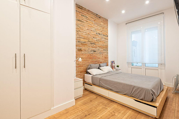 dormitorio piso centro barcelona - Apartment in the historic centre of Barcelona: design and luxury to enjoy the Ciutat Vella