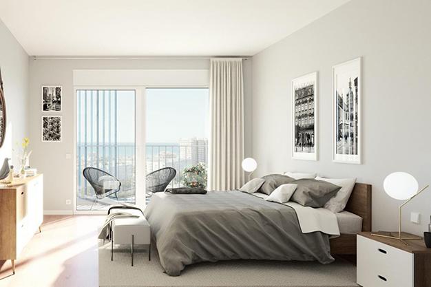 dormitorio piso mallorca - Investment opportunity: exclusive apartment with pool in Mallorca