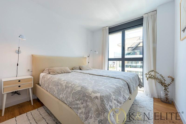 dormitorio principal alicante - Discover this flat next to the beach in Alicante, ideal for those looking for a modern and comfortable space