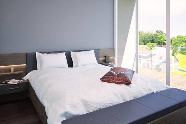dormitorio principal palma de mallorca - Exclusive villa in Palma de Mallorca: modernity and luxury to savour the Mediterranean