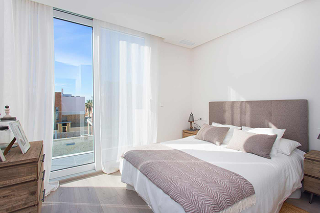 dormitorio q - Beach home with top quality features in Alicante
