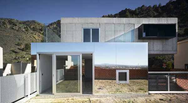 eclectic-house-design-concrete-steel-mirror-4 u2013 News SpainHouses.net