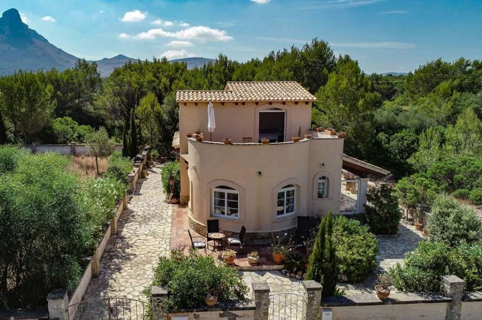 entorno2 - Marvellous Majorcan-style villa: privacy next to the coast