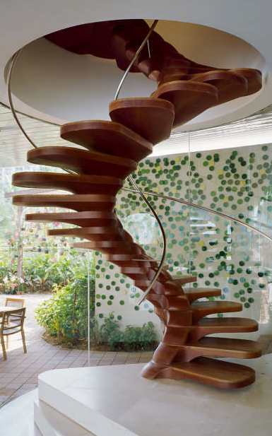 escalera espiral - Staircases to die for