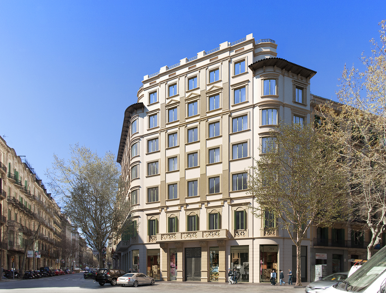 exterior A v05 1 - The union of history and luxury in the center of Barcelona