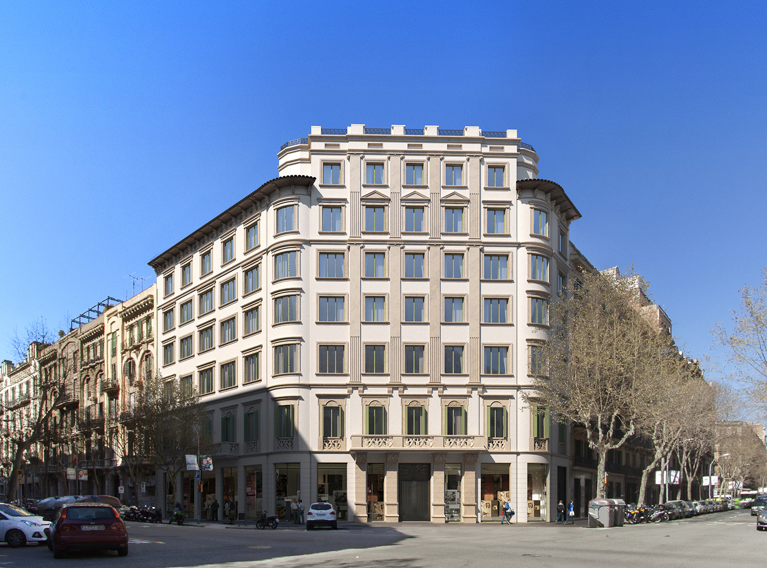 exterior B v05 - The union of history and luxury in the center of Barcelona