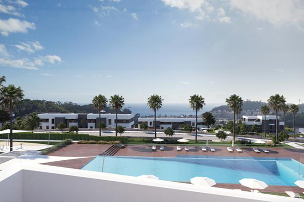 exterior malaga - This luxury flat in Malaga will captivate you for its modern and attractive design