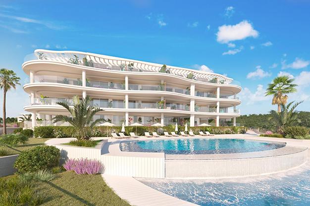 fachada casa costa del sol - Luxury flat on the Costa del Sol where you can start a whole new life
