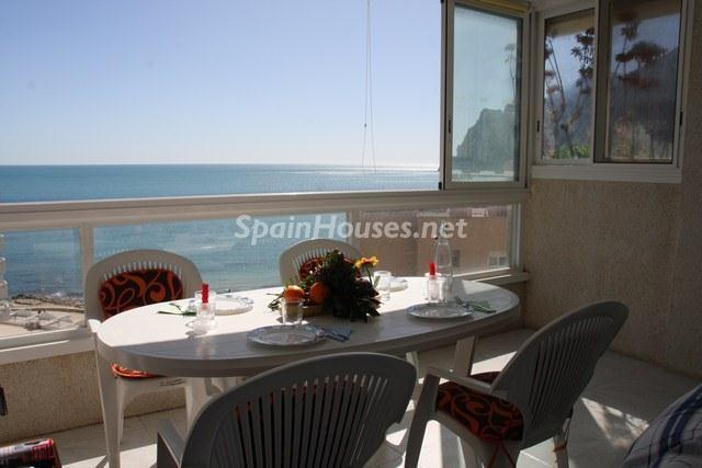 holiday rental apartment in Calpe