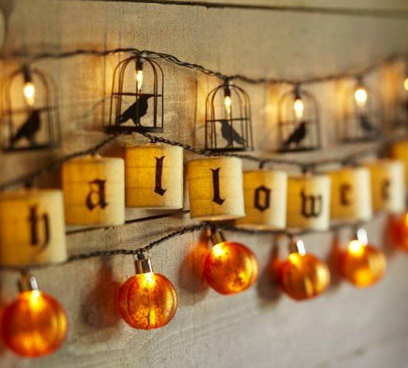 ideas de halloween para decorar guirnaldas bf55ca00 816x736 - Chic and stylish Halloween decoration