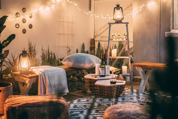 iluminacion terraza - Roof terrace decorating ideas to make the most of the space