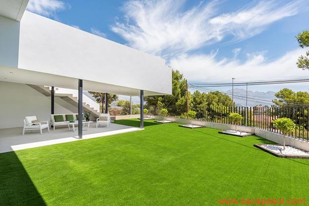 jardín 2 1 - Luxurious villa in Alicante: luminous and very spacious