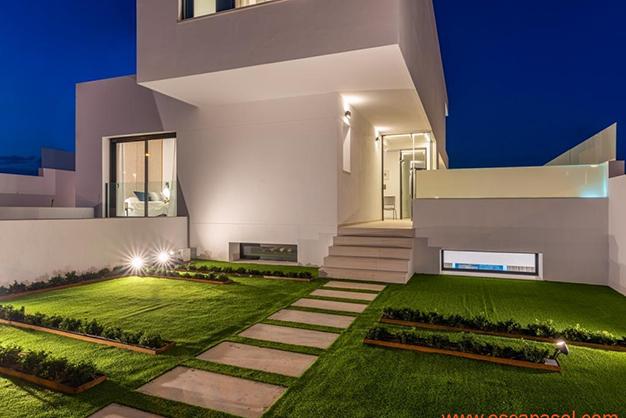 jardín 3 - Luxurious villa in Alicante: luminous and very spacious