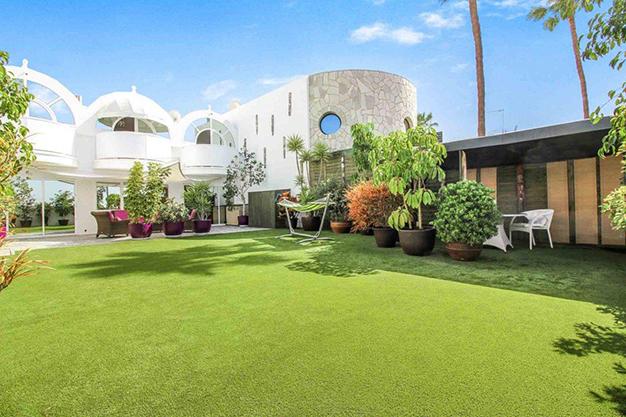 jardin las palmas - Exceptional villa with terraces in Las Palmas: incredible views of the sea and Mount Teide