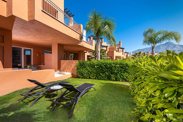 jardin marbella - This apartment for sale in Marbella is the perfect home to live in a unique natural environment and be happy