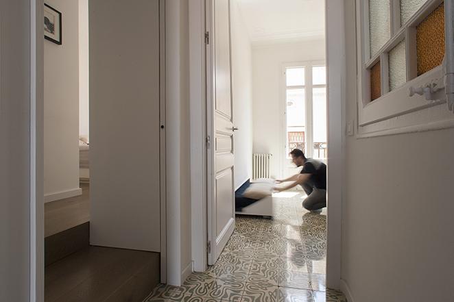 jes14 - Casa Jes: Apartment in Gràcia, Barcelona, by Nook Architects